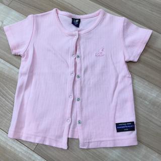 カンゴール(KANGOL)の100 Kangol カンゴール Tシャツ 羽織り カットソー ピンク(Tシャツ/カットソー)