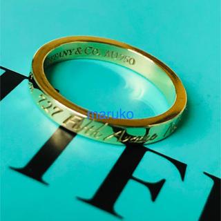 ティファニー(Tiffany & Co.)のティファニー ノーツ ナロー リング k18(リング(指輪))