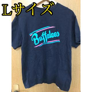オリックスバファローズ(オリックス・バファローズ)のオリックスバファローズ グッズ Tシャツ ネイビー 半袖 プロ野球 NPB(Tシャツ/カットソー(半袖/袖なし))