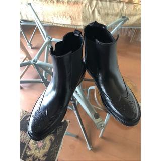 メンズ レインブーツ サイドゴアブーツ(長靴/レインシューズ)