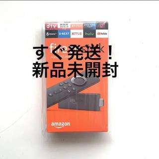 新品 アマゾンFire TV Stick - Alexa対応音声認識リモコン付属(テレビ)