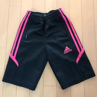 アディダス(adidas)のadidas ハーフパンツ 男児130 ブラック(パンツ/スパッツ)