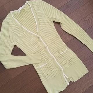 エフデ(ef-de)の八分袖リブニット(ニット/セーター)