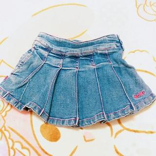 ロニィ(RONI)のRONI♡xs(90)♡デニムスカート(スカート)