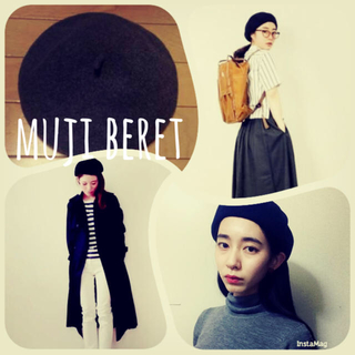 ムジルシリョウヒン(MUJI (無印良品))の無印ベレー帽(ハンチング/ベレー帽)