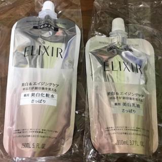 エリクシール(ELIXIR)の美白さっぱり詰め替え用セット(コフレ/メイクアップセット)