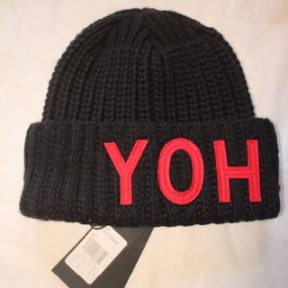 ヨウジヤマモト(Yohji Yamamoto)の新品 タグ付 Y-3 ヨージヤマモト YOHJI ビーニー(ニット帽/ビーニー)