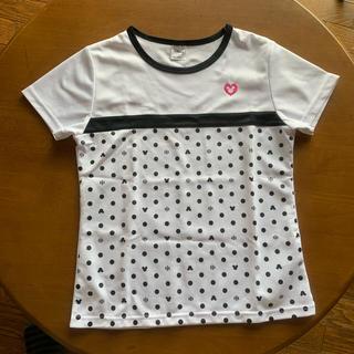 ディズニー(Disney)の美品★ミッキー ジャパーナ スポーツTシャツ 150(ウェア)