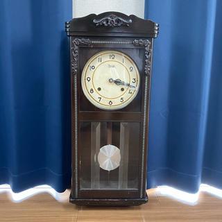 メイジ(明治)の明治 壁掛け振り子時計(掛時計/柱時計)