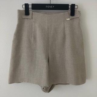 フォクシー(FOXEY)のFOXEY♡リネン ショートパンツ♡(ショートパンツ)