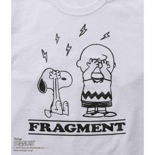 フラグメント(FRAGMENT)の【白 Sサイズ】FRAGMENT PEANUTS LONG SLEEVE TEE(Tシャツ/カットソー(七分/長袖))