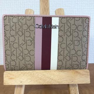 カルバンクライン(Calvin Klein)のCK カルバンクライン 二つ折財布 箱なし 最終値下げ(財布)