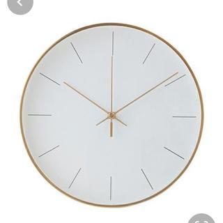 フランフラン(Francfranc)のFrancfranc 壁掛け時計 ゴールド(掛時計/柱時計)
