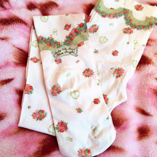 ベイビーザスターズシャインブライト(BABY,THE STARS SHINE BRIGHT)の♡秘密の花園タイツ*ピンク♡(タイツ/ストッキング)