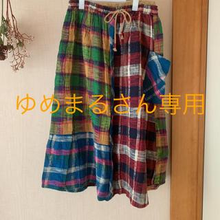 キューブシュガー(CUBE SUGAR)のCUBE SUGAR ロングスカート(ロングスカート)