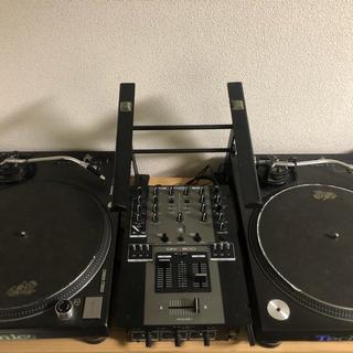 DJ機材セット TechnicsSL-1200MK5フルセット(ターンテーブル)