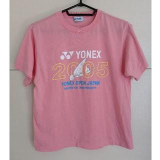ヨネックス(YONEX)のYONEX バドミントン シャツ ピンク(Tシャツ(半袖/袖なし))