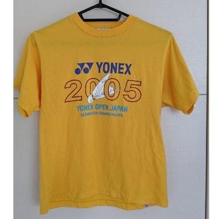 ヨネックス(YONEX)のYONEX バドミントン シャツ イエロー(Tシャツ(半袖/袖なし))