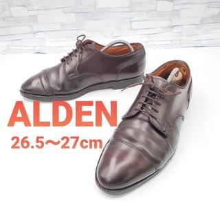 オールデン(Alden)の【ALDEN】オールデン 2160 コードバン ストレートチップ  27cm(ドレス/ビジネス)