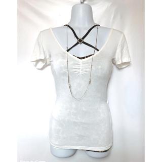 アビラピンク(AVIRA PINK)のアビラピンク バックカット Tシャツ セクシー スレンダー(Tシャツ(半袖/袖なし))