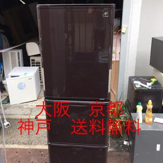 シャープ(SHARP)のシャープ ノンフロン冷凍冷蔵庫 SJ-PW35B-T  2016年製 350ℓ (冷蔵庫)