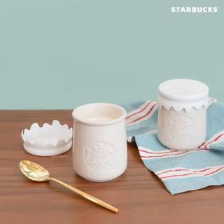スターバックスコーヒー(Starbucks Coffee)の韓国限定☆スターバックス ギリシャヨーグルト陶器(その他)