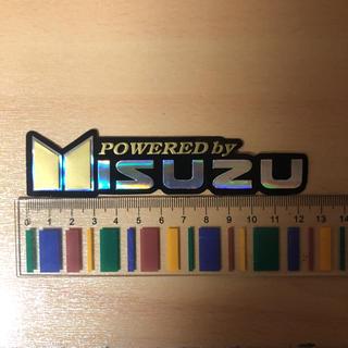 イスズ(いすゞ)のいすゞ ISUZU ホログラム ステッカー トラック バス パワー D-MAX②(車外アクセサリ)