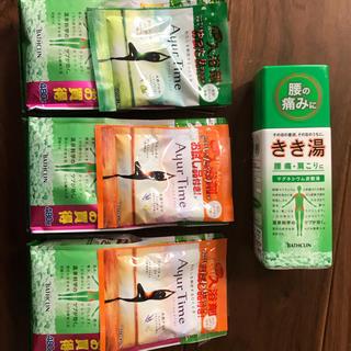 きき湯 詰め替え用増量480g 3袋(入浴剤/バスソルト)