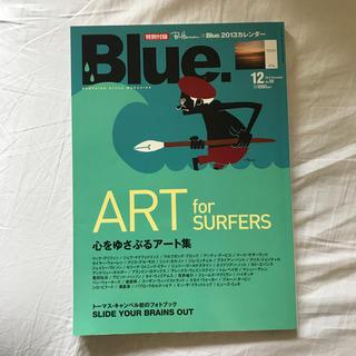 ロンハーマン(Ron Herman)のBlue 2012年12月号(趣味/スポーツ)