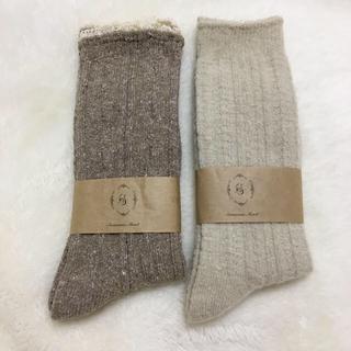 サマンサモスモス(SM2)のSamansa Mos2〇゚靴下2足 カットソーセット(ソックス)