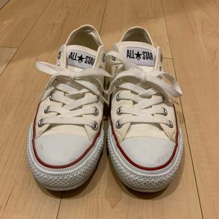 コンバース(CONVERSE)の【converse】オールスター ホワイト(スニーカー)