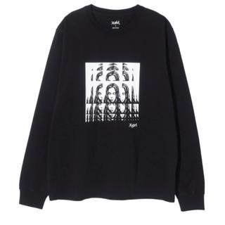 エックスガール(X-girl)のx-girl  PSYCHEDELIC FACE Tシャツ(Tシャツ(長袖/七分))