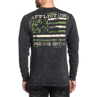 Affliction Ac Flag ロンT サイズM(Tシャツ/カットソー(七分/長袖))