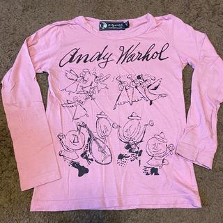ヒステリックグラマー(HYSTERIC GLAMOUR)のHYSTERIC GLAMOUR Andy Warhol(Tシャツ/カットソー)