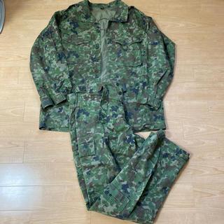 陸自仕様迷彩服上下 中古 177cmベルト付 自衛隊(戦闘服)
