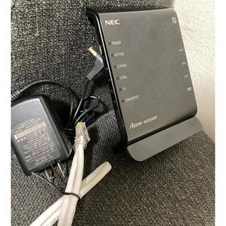 エヌイーシー(NEC)のNEC PA WG1200HP ルーター(PC周辺機器)
