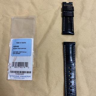 パネライ(PANERAI)のパネライ ストラップ 44mm BDR用(レザーベルト)