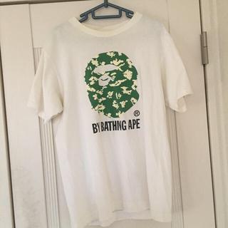 アベイシングエイプ(A BATHING APE)のbananan様専用値下げベイジングエイプ Tシャツカモフラグリーン メンズM(Tシャツ/カットソー(半袖/袖なし))