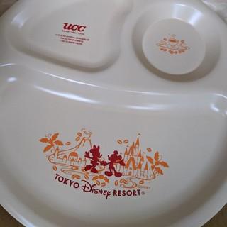 ディズニー(Disney)のディズニーリゾート UCC ランチプレート 二枚セット 非売品 子供 食器(プレート/茶碗)