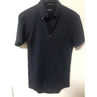 ブラックレーベルクレストブリッジ(BLACK LABEL CRESTBRIDGE)の昨年購入 ブラックレーベル クレストブリッジ メンズ S 半袖 シャツ 濃紺(シャツ)