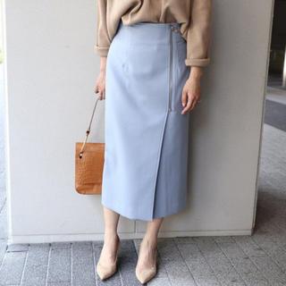 ノーブル(Noble)のNoble タイトジップスカート(ひざ丈スカート)
