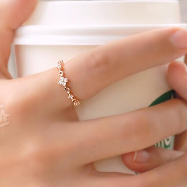 ⭐️色落ちしないリング⭐️ レディースのアクセサリー(リング(指輪))の商品写真