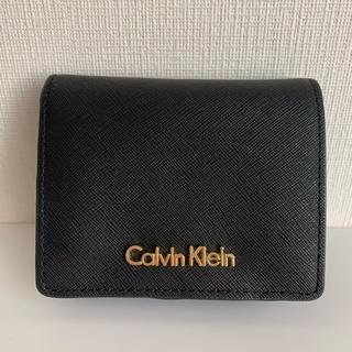 カルバンクライン(Calvin Klein)のカルバンクライン Calvin Klein 二つ折り財布 ミニ財布 (財布)