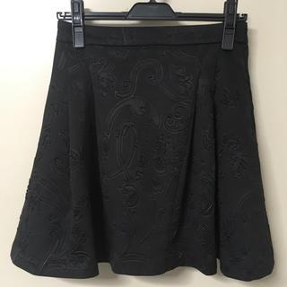 ジエンポリアム(THE EMPORIUM)の型押し ミニスカート(ミニスカート)