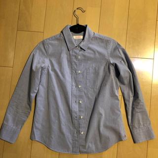 アナディス(d'un a' dix)のluxluft ルクスルフト 長袖シャツ ブルー(シャツ/ブラウス(長袖/七分))