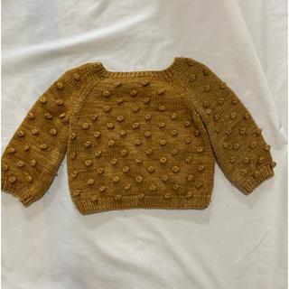 Caramel baby&child  - misha&puff  misha and puff ポップコーンセーター