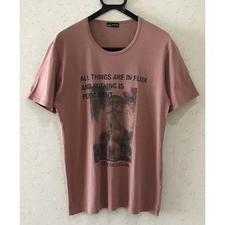 ラッドミュージシャン(LAD MUSICIAN)の* ラッドミュージシャン 転写 半袖 Tシャツ カットソー トップス 44(Tシャツ/カットソー(半袖/袖なし))