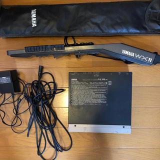ヤマハ(ヤマハ)のYAMAHA/ヤマハ製ウインドシンセWX11&音源モジュールVL70-mのセット(音源モジュール)