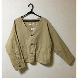 SM2 - ラストプライス❗️サマンサモスモスブルー ポプリンシャツジャケット