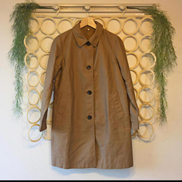 MUJI (無印良品)(ムジルシリョウヒン)の無印良品 コート スプリングコート レディースのジャケット/アウター(スプリングコート)の商品写真